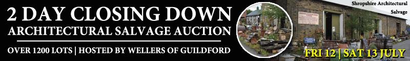 Shropshire Architectural Salvage auction