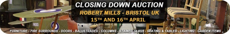Wellers Robert Mills ltd closing down auction 15th and 16th April