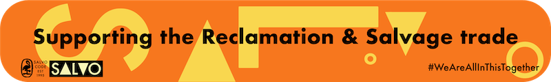 Salvo Supporting the Reclamation and Salvage trade- Salvo homepage banner